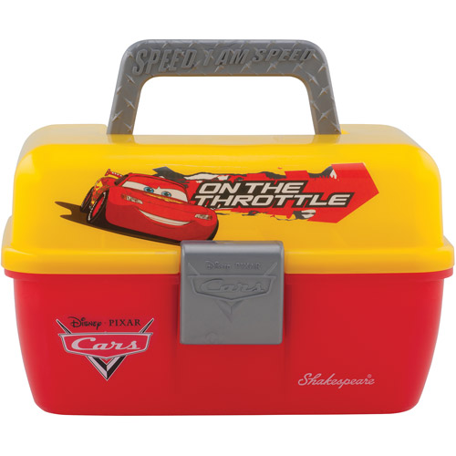 Shakespeare Cars Multi-Purpose Tackle Box with Tray