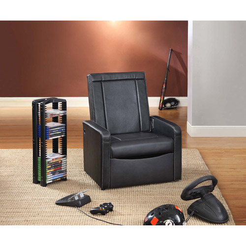 Video Rocker - Storage Gaming Ottoman, Multiple Colors