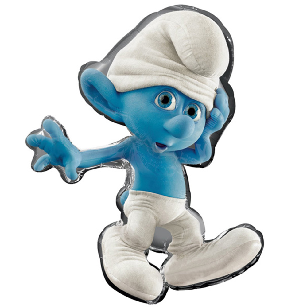 "Smurfs Super Shape Boy Foil Balloon 34"""