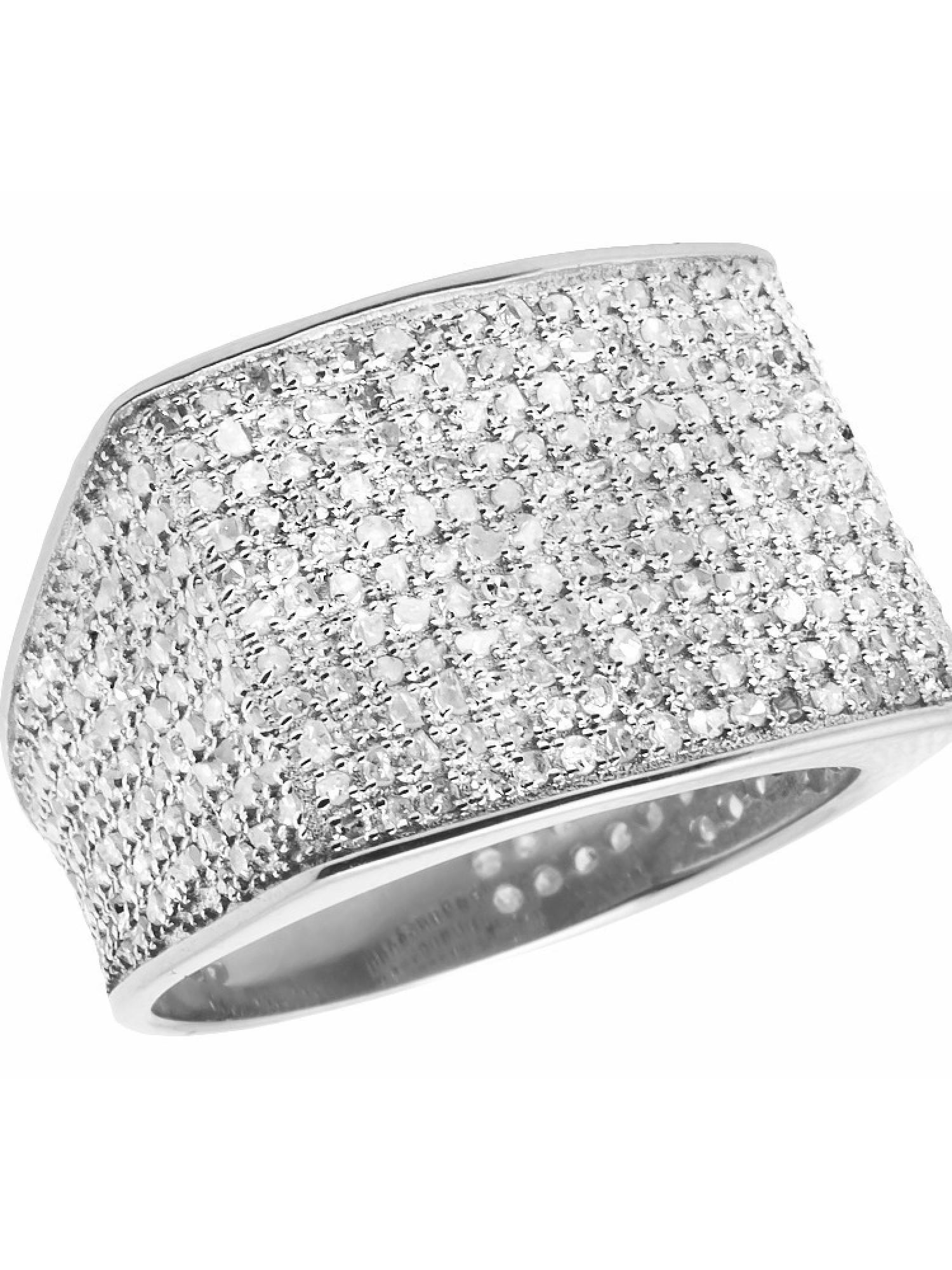 10K White Gold Men's Pave Eternity Real Diamond Ring Band 1.35 Ct Sz-7