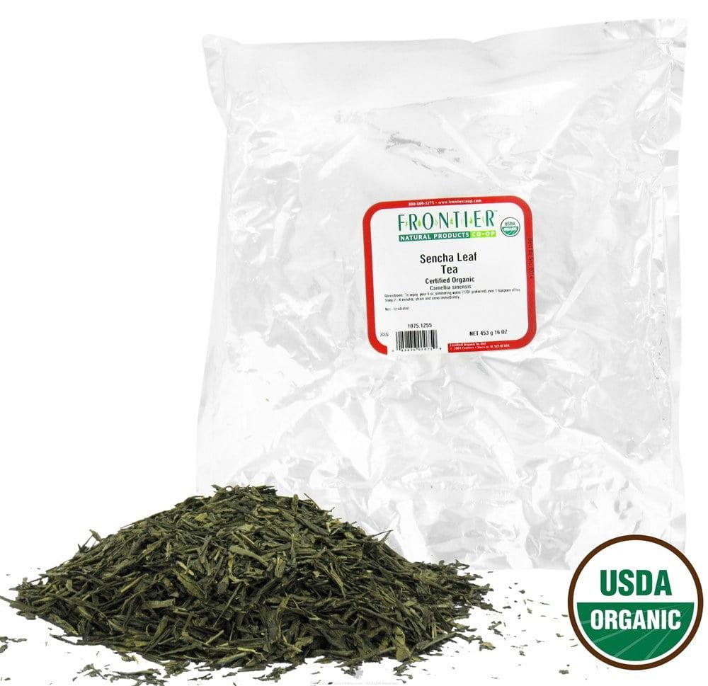 Frontier Natural Products - Bulk Sencha Tea Organic - 1 lb.