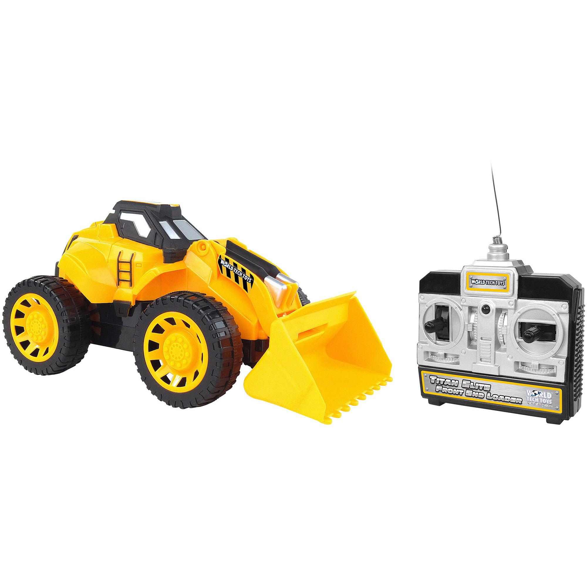 World Tech Toys Titan Elite Front End Loader RC Construction Vehicle