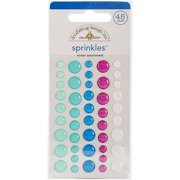 Winter Sprinkles Glossy Enamel Stickers