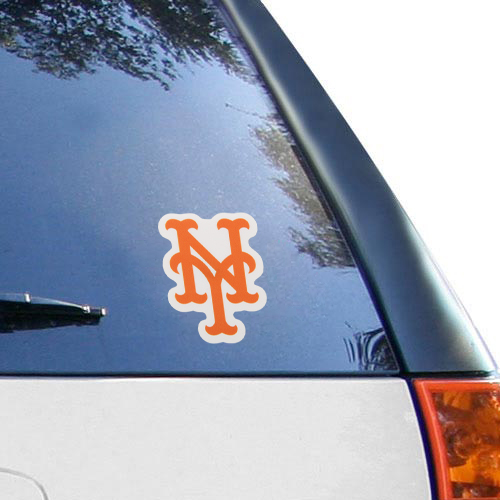 WinCraft New York Mets 4'' x 4'' Color Perfect Cut Decal - No Size