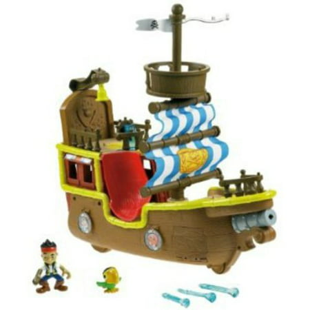 Fisher-Price Jake and the Neverland Pirates - Jake's Musical Pirate Ship - Jake And Neverland Pirates