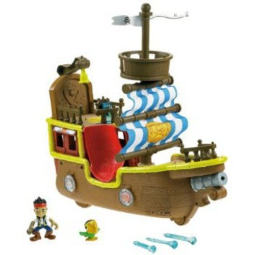 Fisher-Price Jake and the Neverland Pirates - Jakeu0027s Musical Pirate Ship Bucky  sc 1 st  Walmart & Fisher-Price Jake and the Neverland Pirates - Jakeu0027s Musical ...