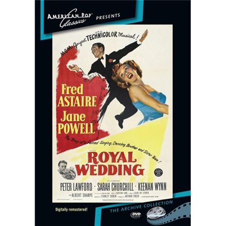Royal Wedding DVD Movie 1951 - Walmart.com