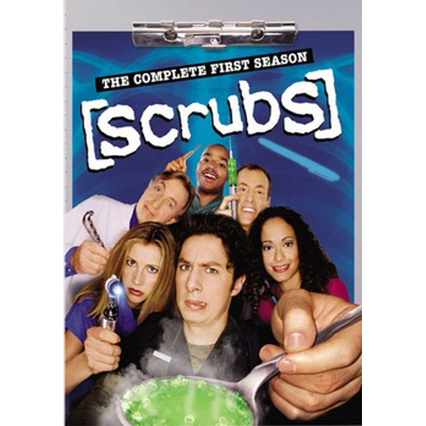 Scrubs: The Complete First Season (DVD)