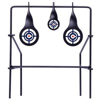 Crosman Metal Spinning Target, Use with .177 And .22 Caliber Lead Pellets, CSLT