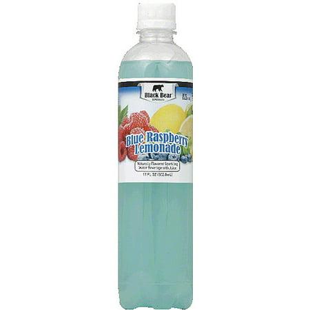 Black Bear Beverages Blue Raspberry Lemonade Sparkling Water Beverage ...