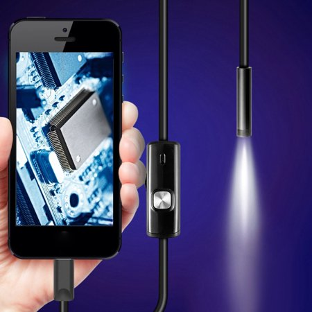7mm Endoscope Camera for Android Phone Waterproof Phone Endoscope 1.5m - image 7 of 7