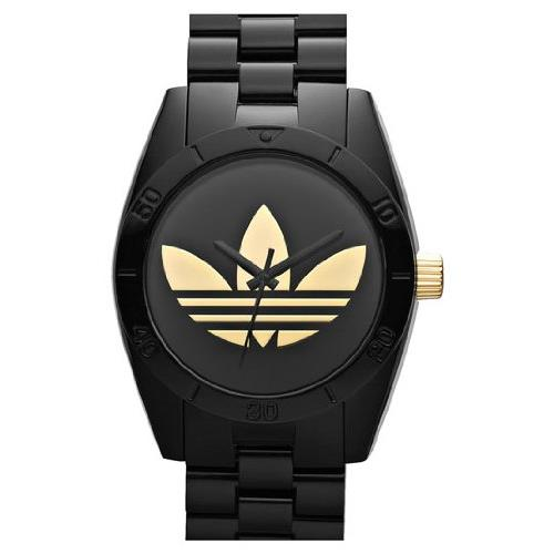Adidas adh2798 42mm Plastic Case Black Rubber Bracelet Plastic Men's Watch by Adidas