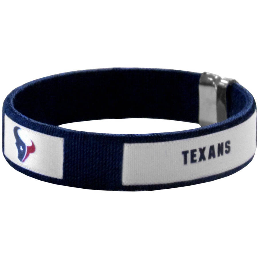 NFL Houston Texans Fan Band Bracelet