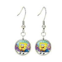 Spongebob Cartoon Dangle Earrings