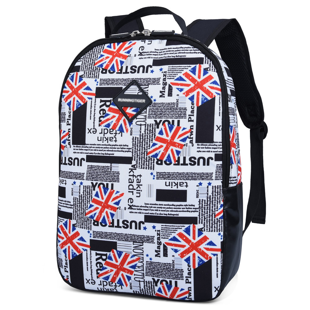 Kids School Bag-Fitbest Kids Printed School Bag Waterproof Backpack Casual Daypack for Kids Students and Teenagers