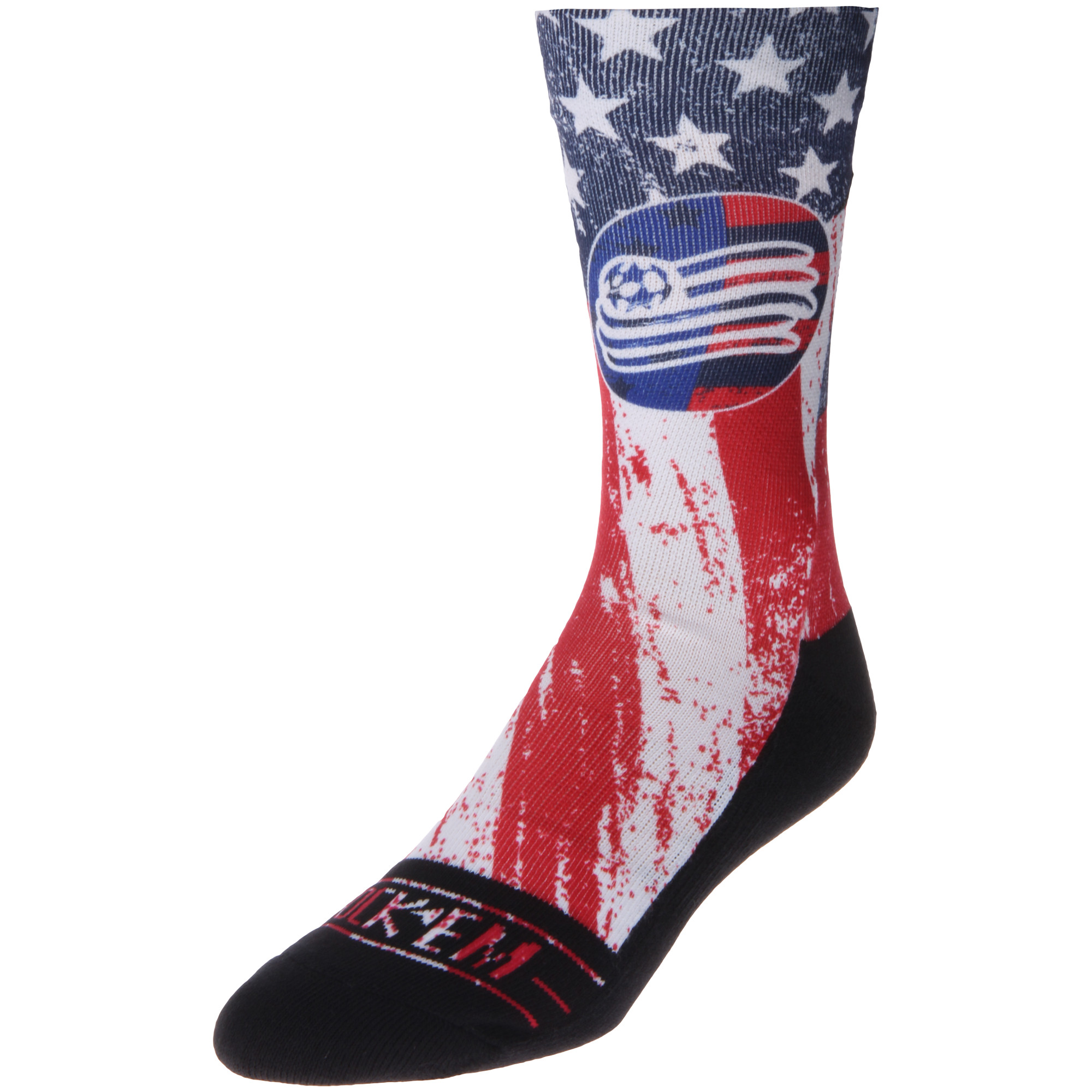 New England Revolution For Club and Country Socks - Blue