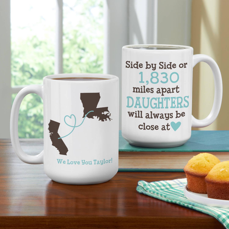 Personalized Close at Heart Coffee Mug, 15 oz