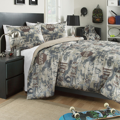 Josh & Posh Kidz Boot Camp 3 Piece Comforter Set