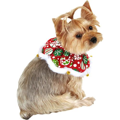 SimplyDog Ornament Print Dog Scrunchie