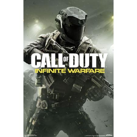 Trends International Call Of Duty Infinite Warfare Key Art Wall Poster 22 375   X 34