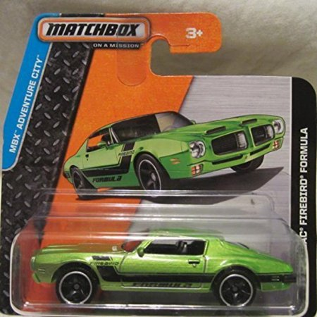 1990 Pontiac Firebird Formula - Matchbox 2014 MBX Adventure City 71 Pontiac Firebird Formula 11/120 Short Card