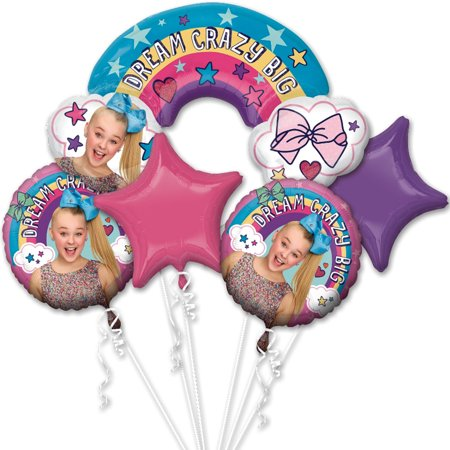 Jojo Siwa Foil Balloon Bouquet