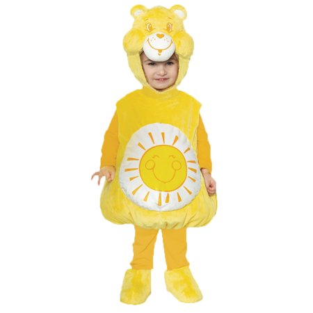 Bear Halloween Costumes For Toddlers (Care Bears™ Funshine Bear™ Belly Baby Toddler Halloween)