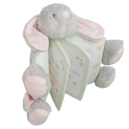 Girls Soft Plush (Ganz Small Bunny Stuffed Animal Baby Picture Book Toy Super Soft Plush Cute For Toddlers Kids Boys Girls)