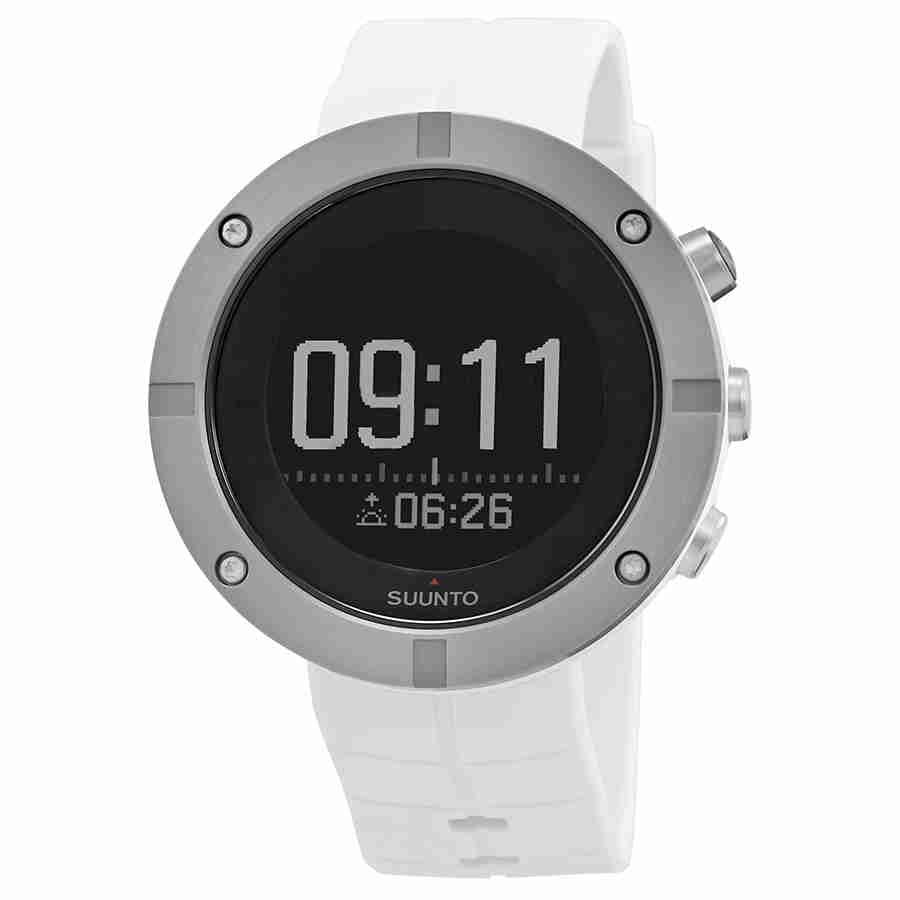 Suunto Kailash Silver Alarm World Time Watch SS021240000