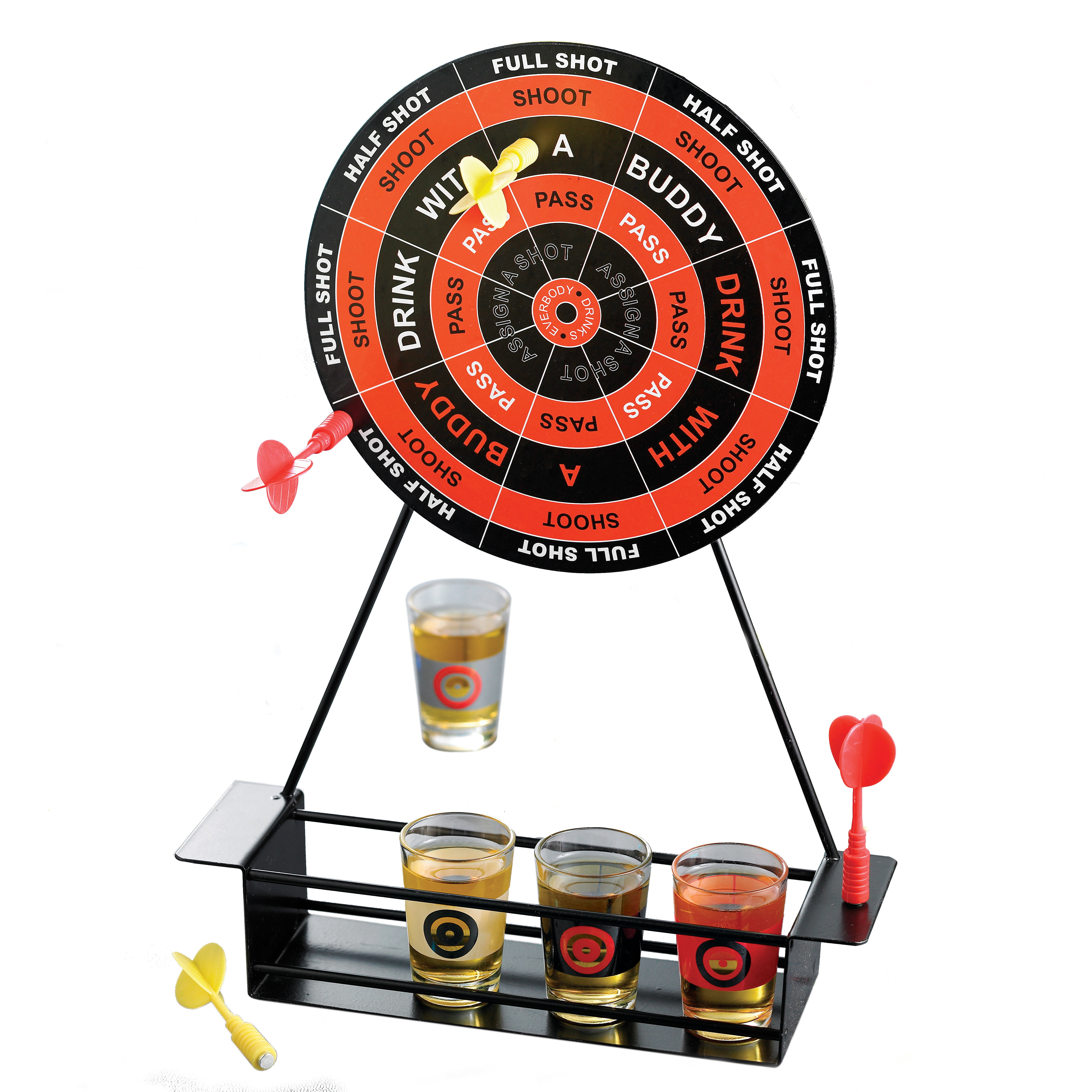 """DRINKING """"DARTS"""" GAME by Jay Import Inc"""