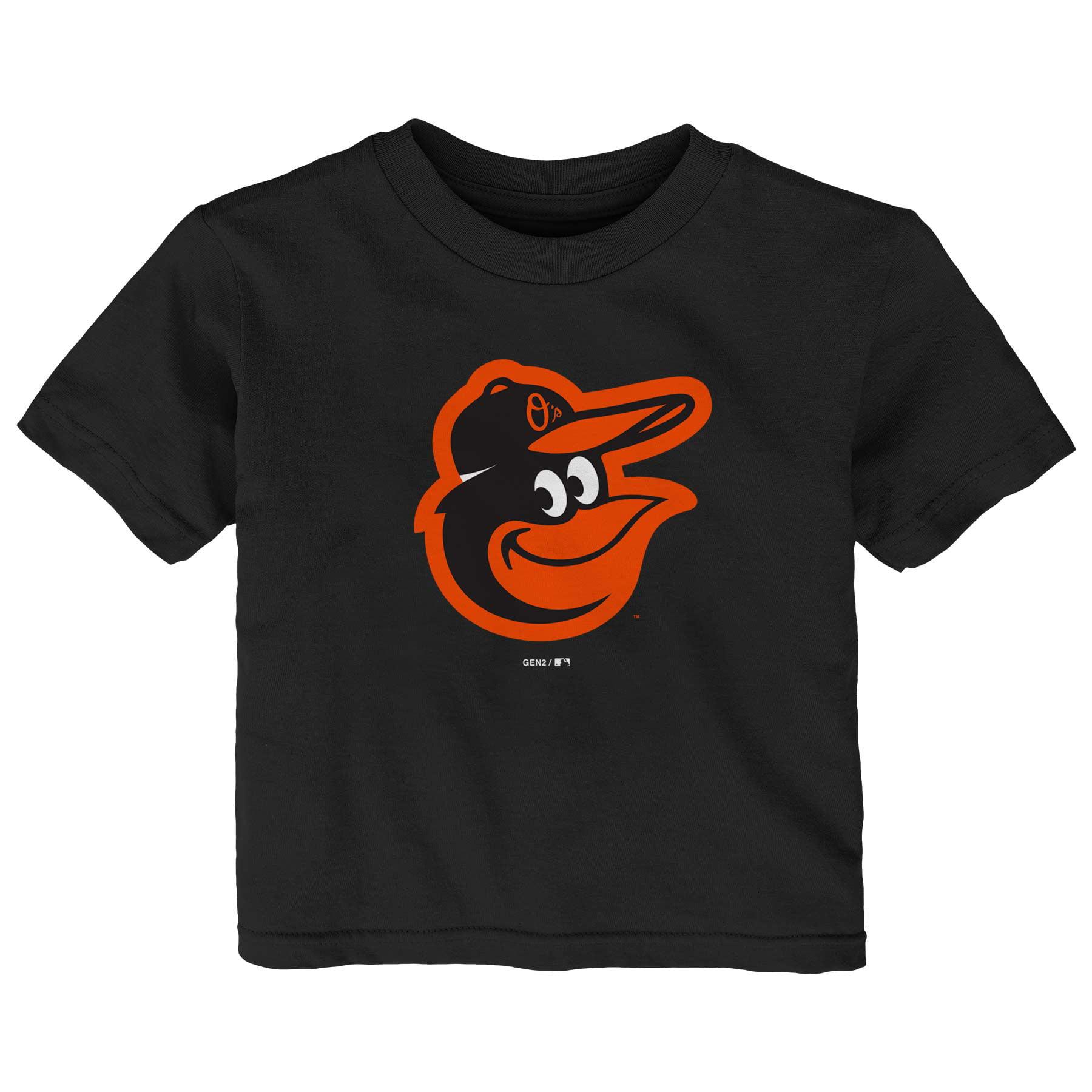 Baltimore Orioles Infant Primary Logo T-Shirt - Black