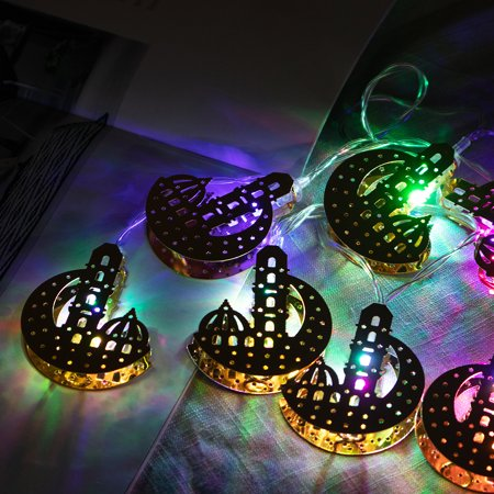 10Pcs/Set Multi-shape LED Light Colorful String Fairy Lights Christmas Wedding Party Festival Home Decor - 5.4ft Length](Fairy Festivals)