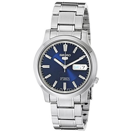 Seiko Men's 5 SNK793 Automatic Stainless Steel Watch with Blue Dial