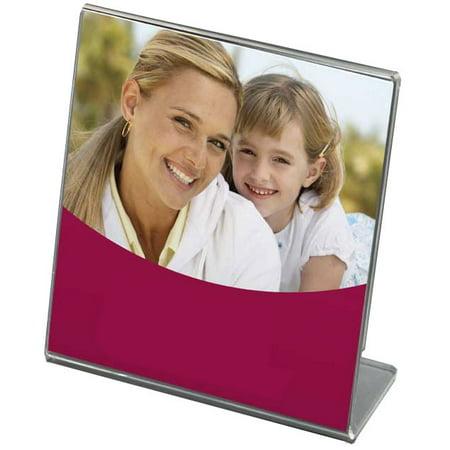 Bent Acrylic Frame 5x5 Single (Vertical Acrylic)