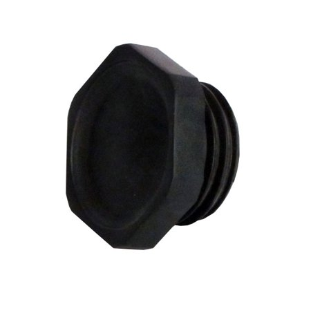 Header extension flange cap for Heliocol Pool Solar Panels-Old Style -