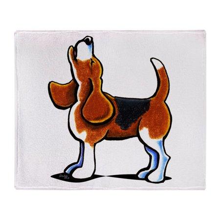 "CafePress - Tricolor Beagle Bay - Soft Fleece Throw Blanket, 50""x60"" Stadium Blanket"