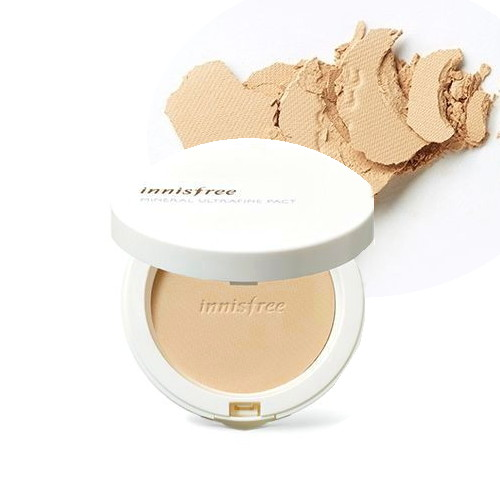 (6 Pack) INNISFREE Mineral Ultrafine Pact SPF25 PA++ No.21