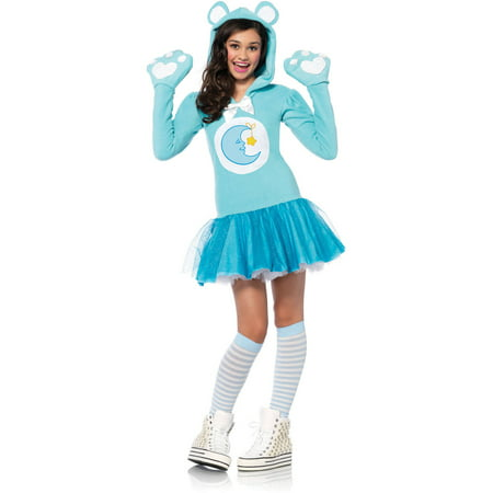 Leg Avenue Care Bears Junior Bedtime Bear Teen Halloween - Cute Bear Halloween Costume