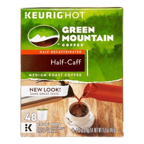 Keurig K-Cup Pack 48-Count Green Mountain Coffee Half-Caff