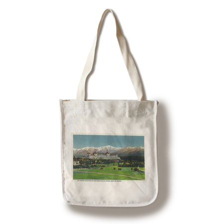 Bretton Woods  New Hampshire   View Of Mt Washington Hotel  Presidential Range  100  Cotton Tote Bag   Reusable