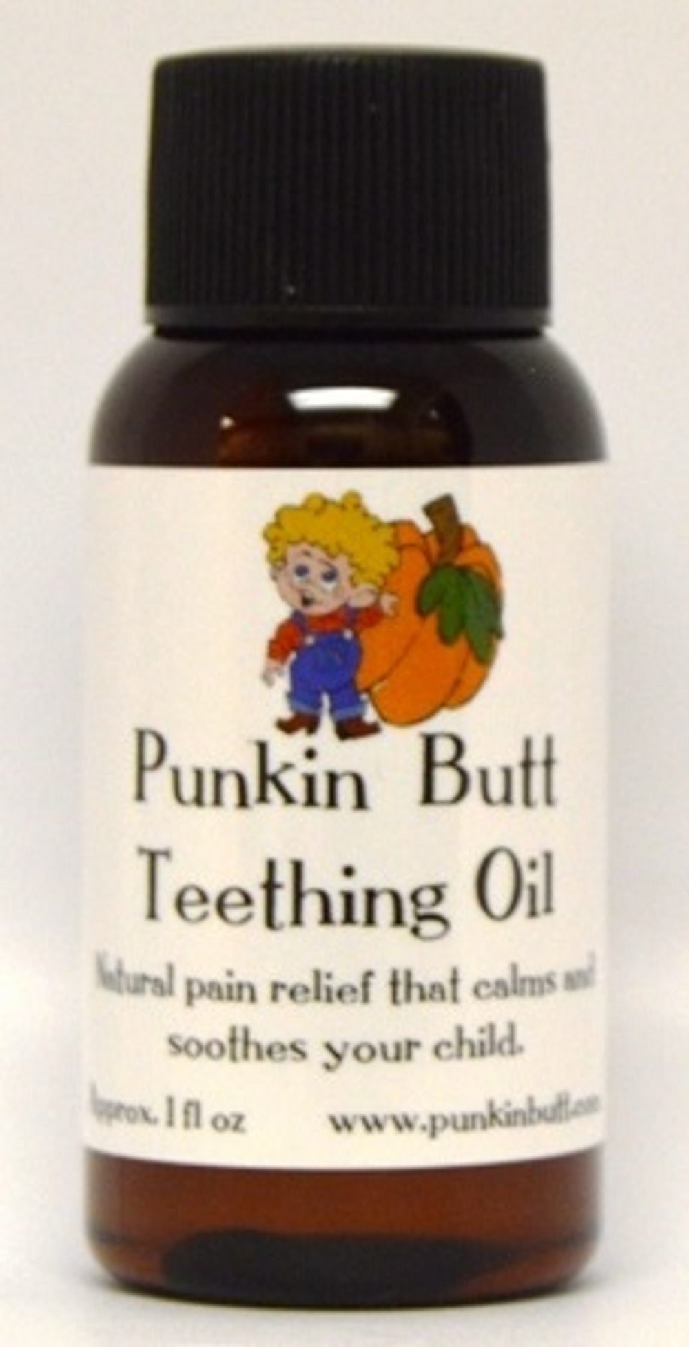 Punkin Butt Teething Oil - 1 Ounce