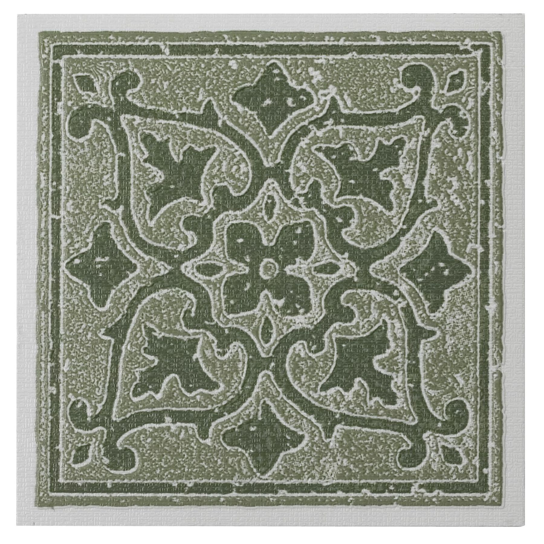 Traditional Elegance Madison Accent Forest 4x4 Self Adhesive Vinyl Wall Tile - 27 Tiles/3 sq. Ft.