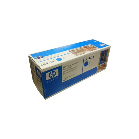 Genuine HP Q3971A (123A) Cyan Toner
