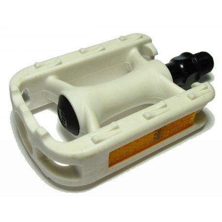 Juvenile Pedals - VP Components VP-209 Juvenile Pedal White 1/2