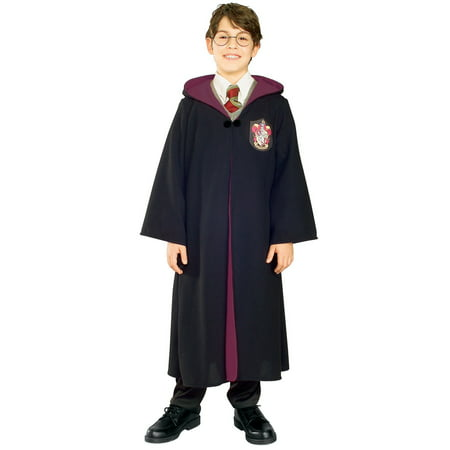 Harry Potter House Robes (Boys Deluxe Harry Potter Robe Costume)