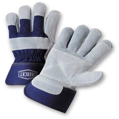 XLarge Premium Heavy Split Cowhide Leather Double Palm Gloves Dozen