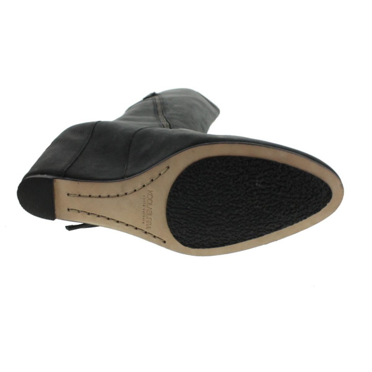 701a06320fd6 Koolaburra - Koolaburra Womens Paradis Leather Fringe Wedge Boots -  Walmart.com