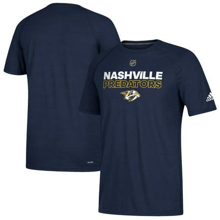 Nashville Predators adidas Authentic Ice climalite Ultimate T-Shirt - Navy  - Walmart.com c04069d6f