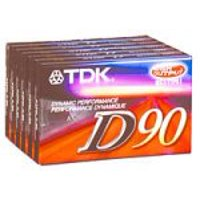 90-Minute Audio Tapes (6-Pack) (D90S6F) (Discontinued by Manufacturer), By TDK From USA