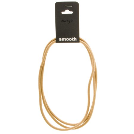 Ricky's N.Y.C. Smooth Headband - Triple Rope Model No. 40203 (Light Brown) (Rickys Halloween Nyc)